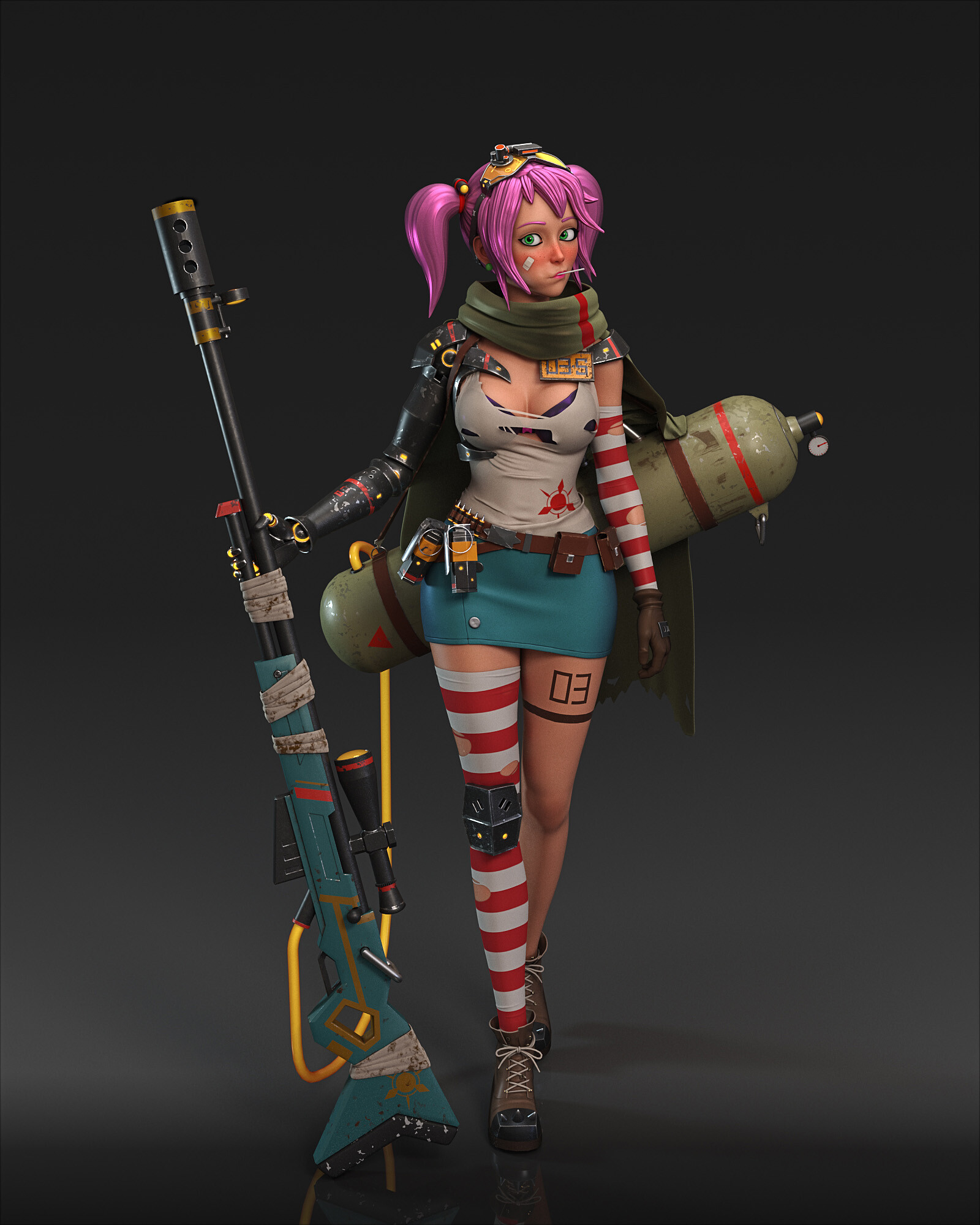 Cgmonkeyking punk girl test03 pn01 pp small