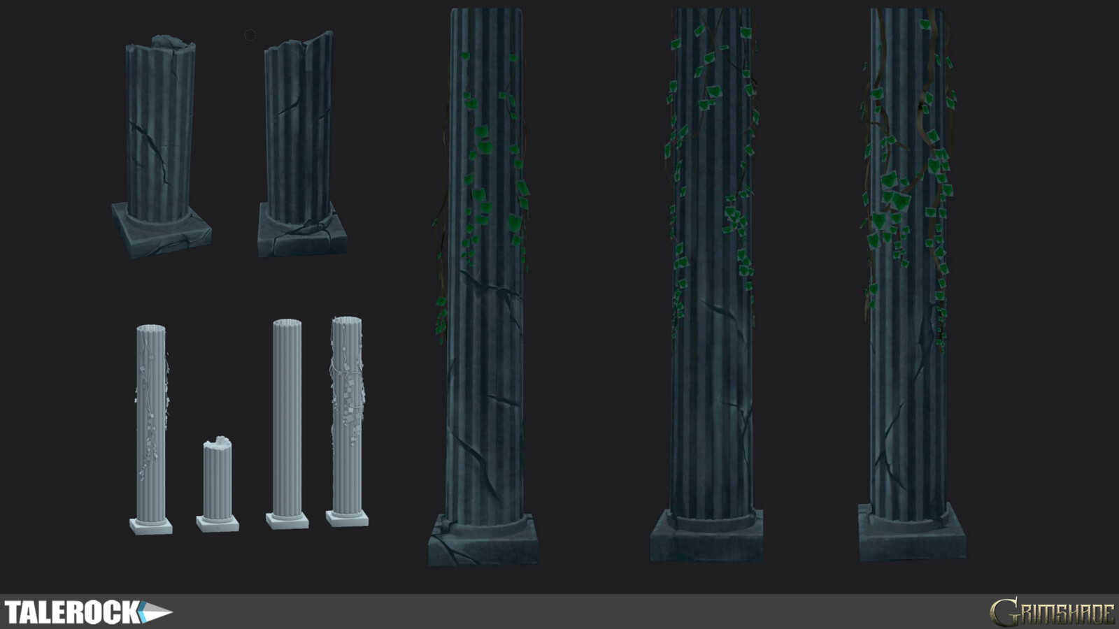 3D models and textures