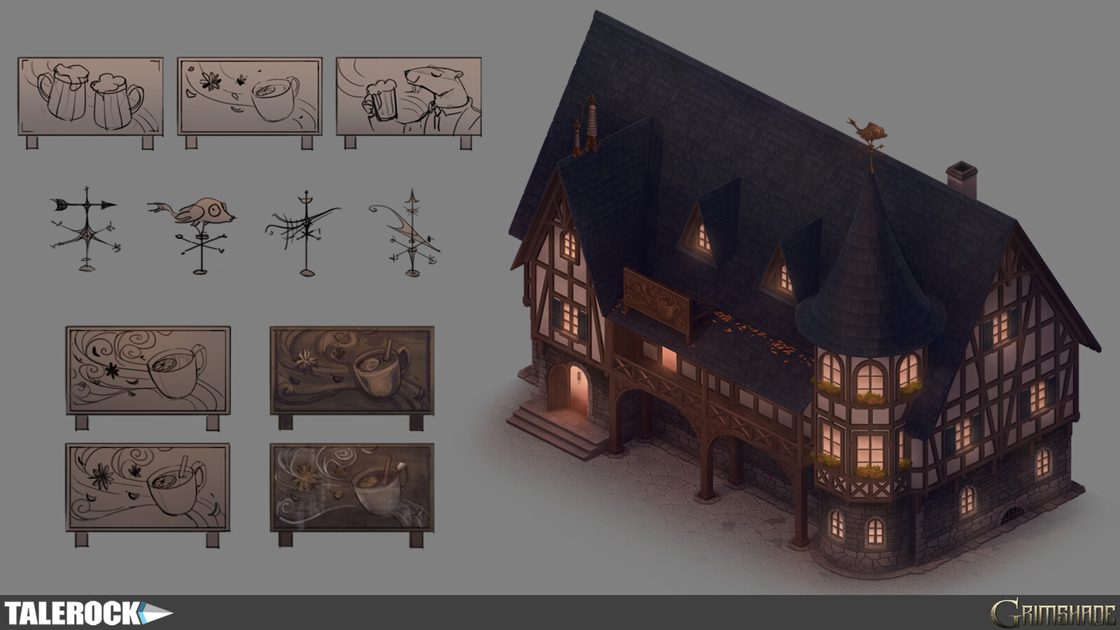 Spicy Wind tavern concept