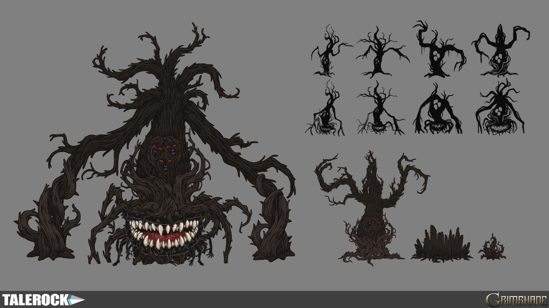 Talerock studio wailing horror concept