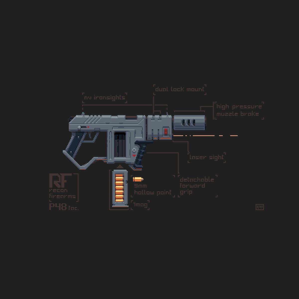 P48 tac. Gun Design