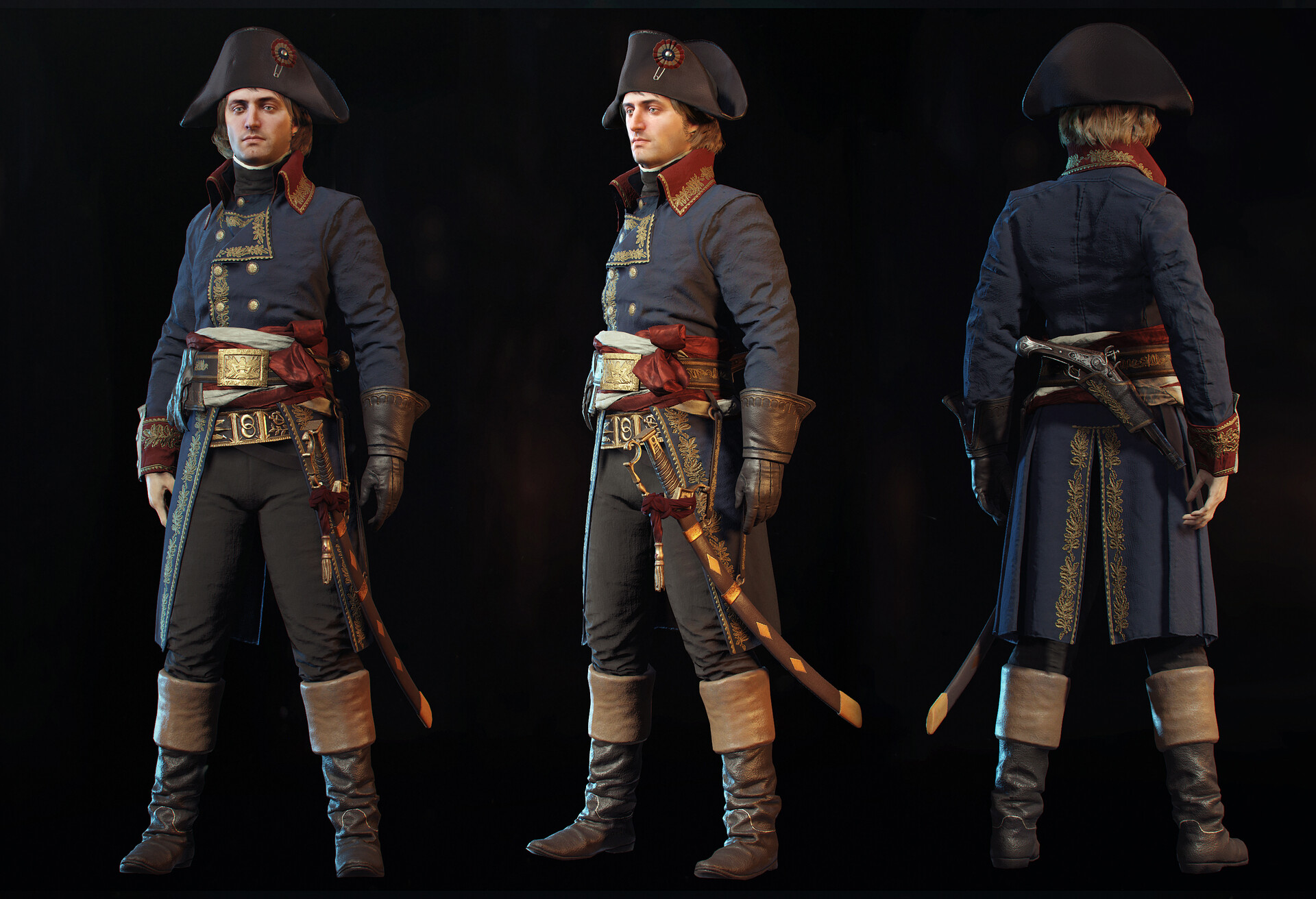 Raphael Boyon Napoleon Bonaparte Assassin S Creed Unity 2014
