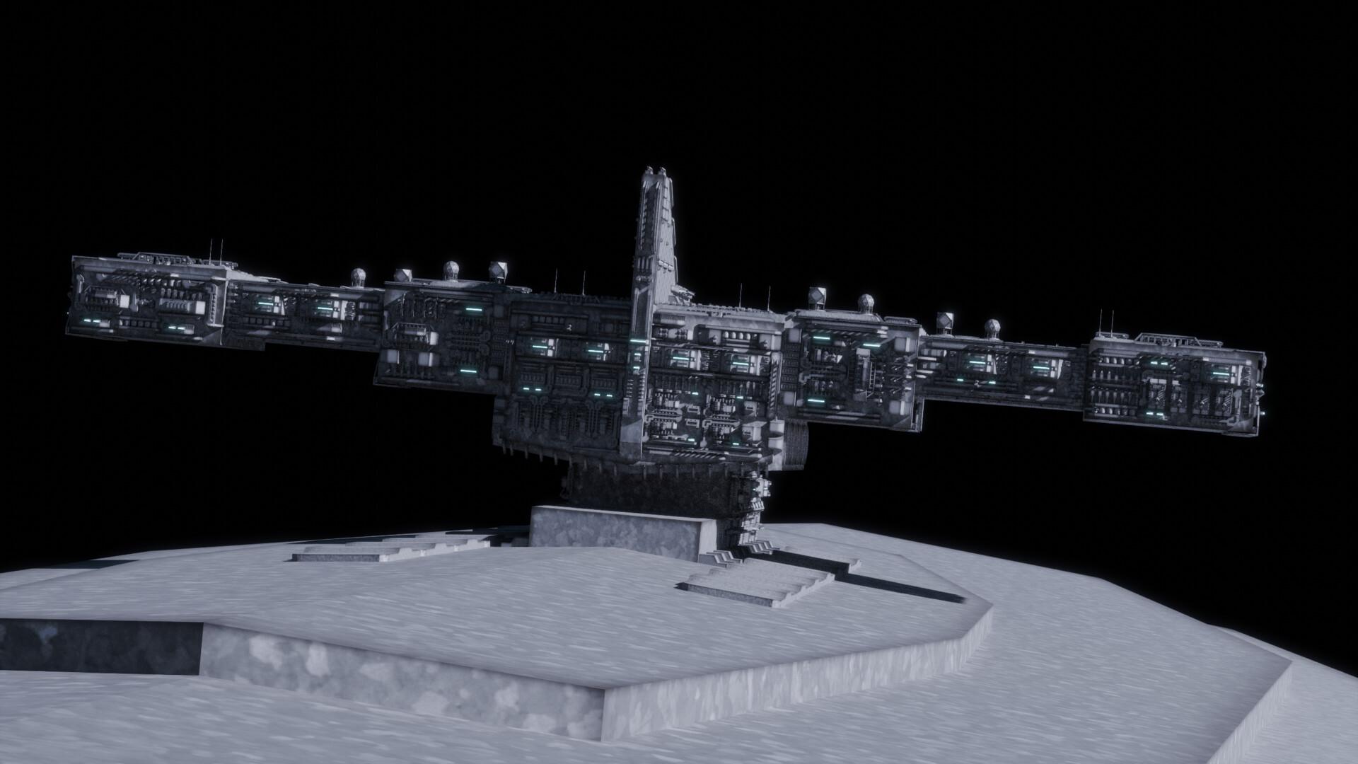 Artstation The Mega Class Star Destroyer The Supremacy Wip 1 Gabriel Swanson