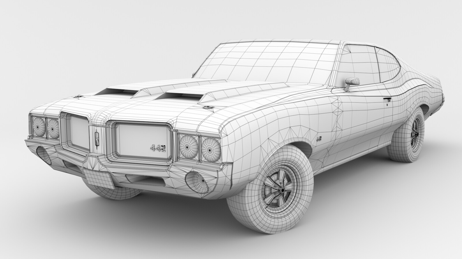 Ambient Occlusion Wireframe