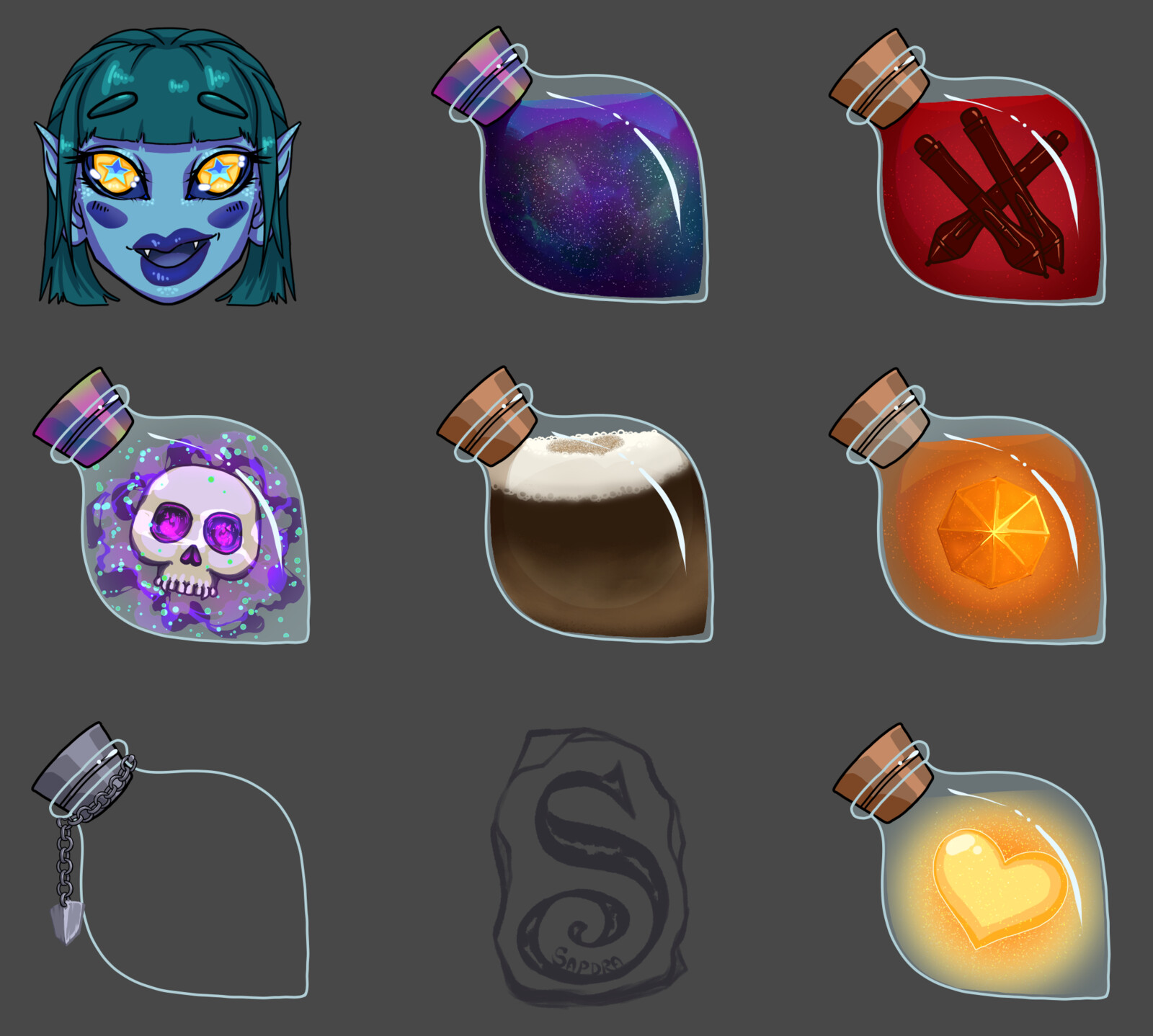 Stream potion galore