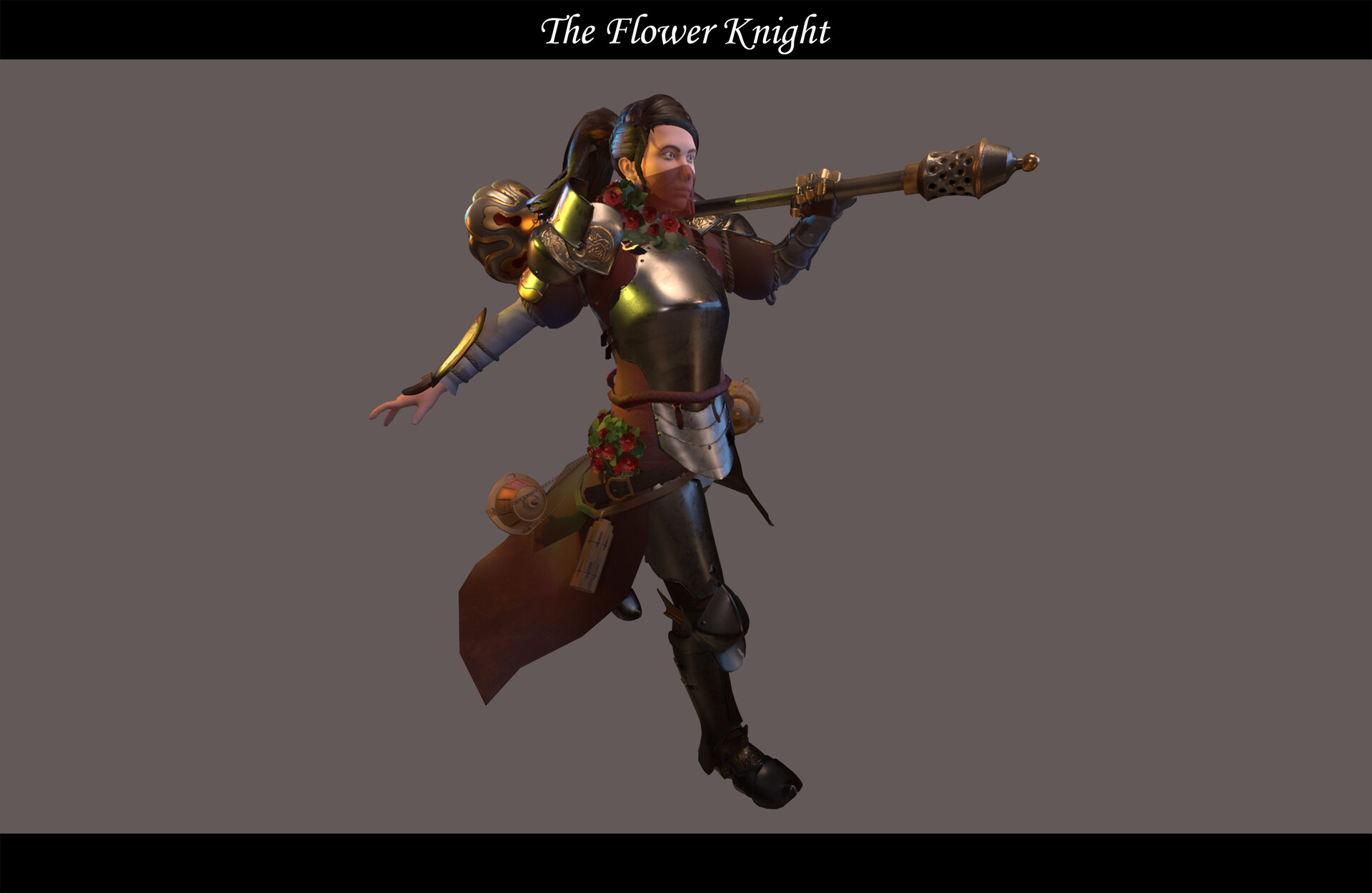 Jacob brockway the flower knight