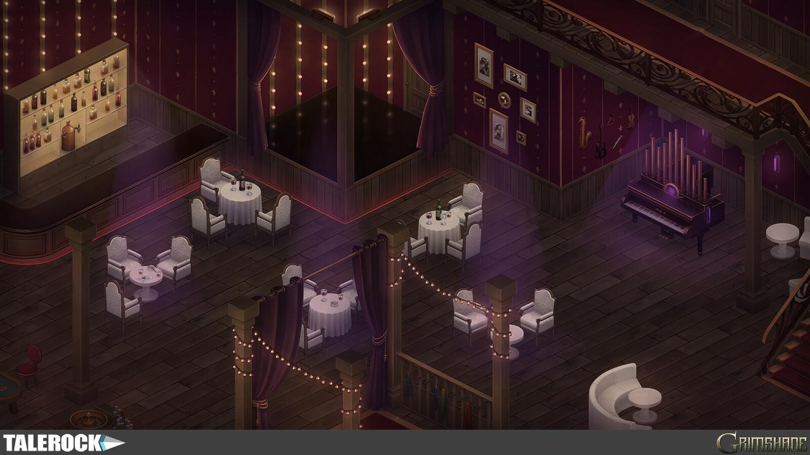 Dragon Tick Interior — in-game screenshot