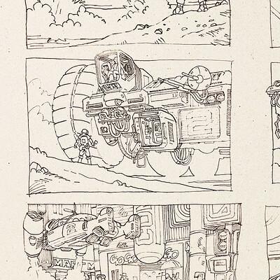 Paul adams doodles 1