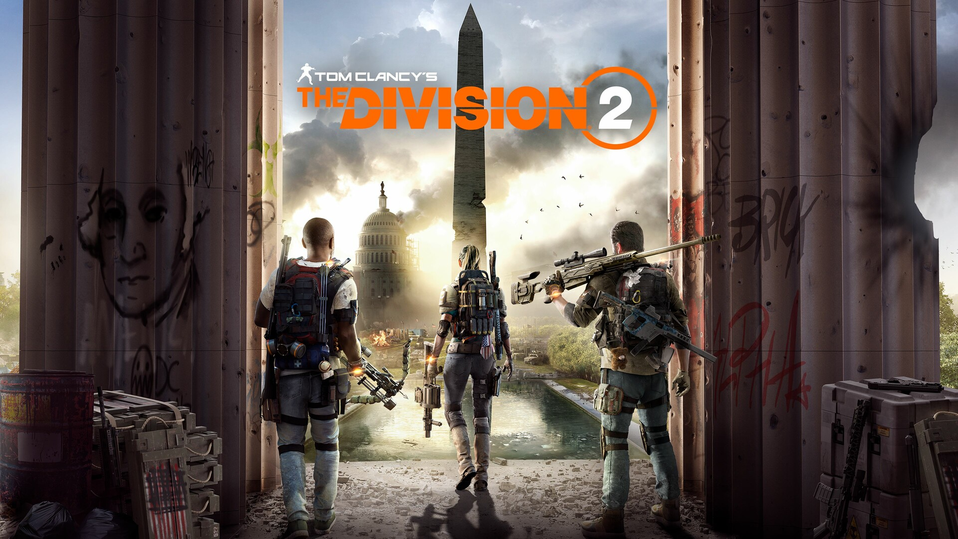 The Division 2 Cover Keyart