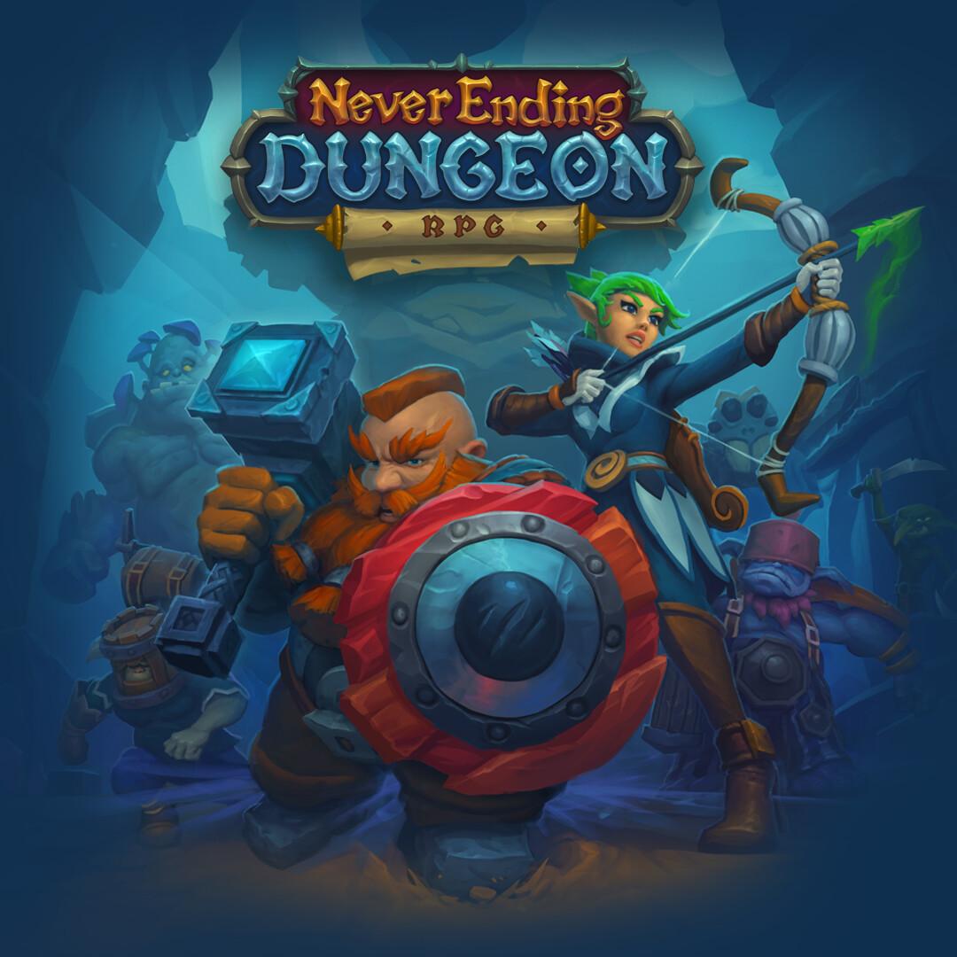ArtStation - Never Ending Dungeon RPG: Promo Art, Solar Games