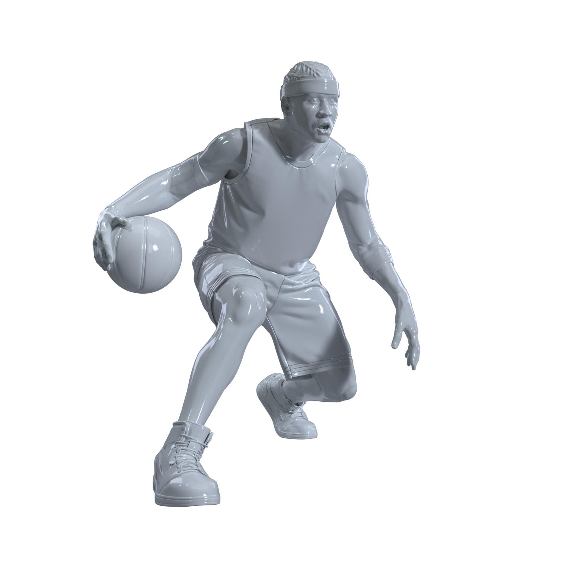 Fabrizio Bogado - ESPN - 3D modelling for NBA players