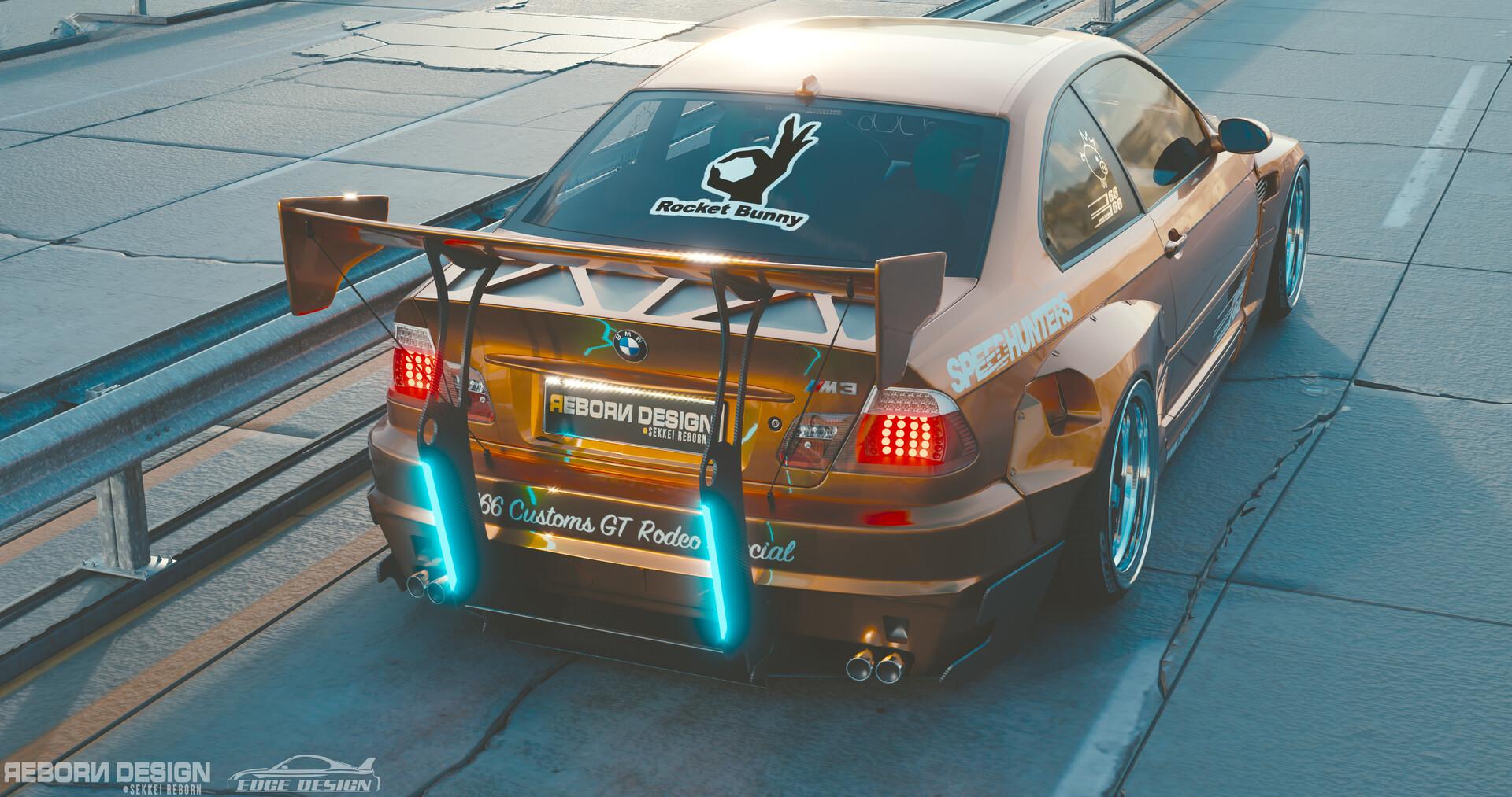 Wahyu R - BMW M3 E46 PandeM Rocket Bunny