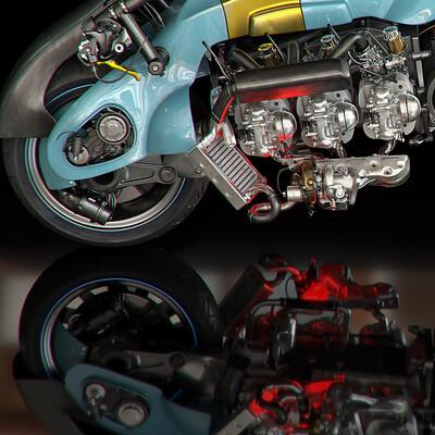 Ying te lien f6 motorcycle