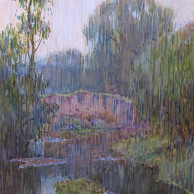 Oleg koreyba oleg koreyba watercolor after rain