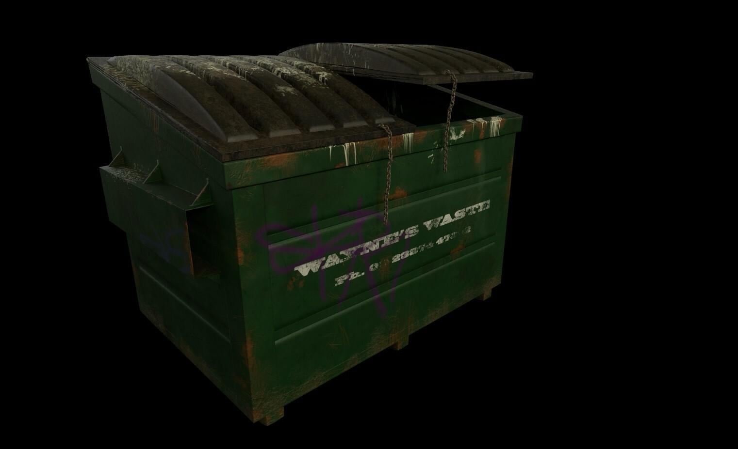 Dumpster Environment Model