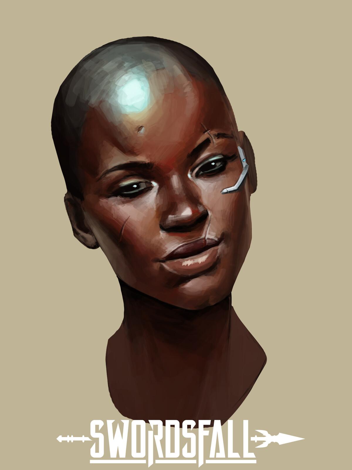 Nubia -bust