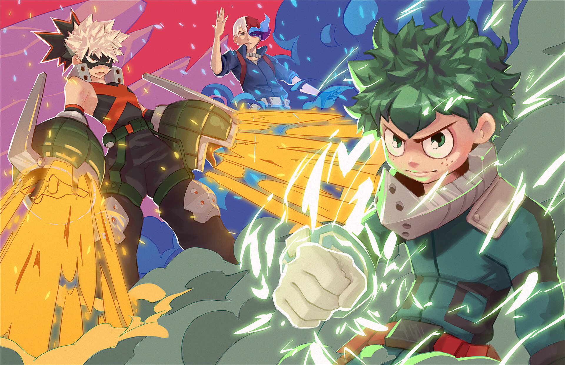 Boku no Hero - Boyo Edition