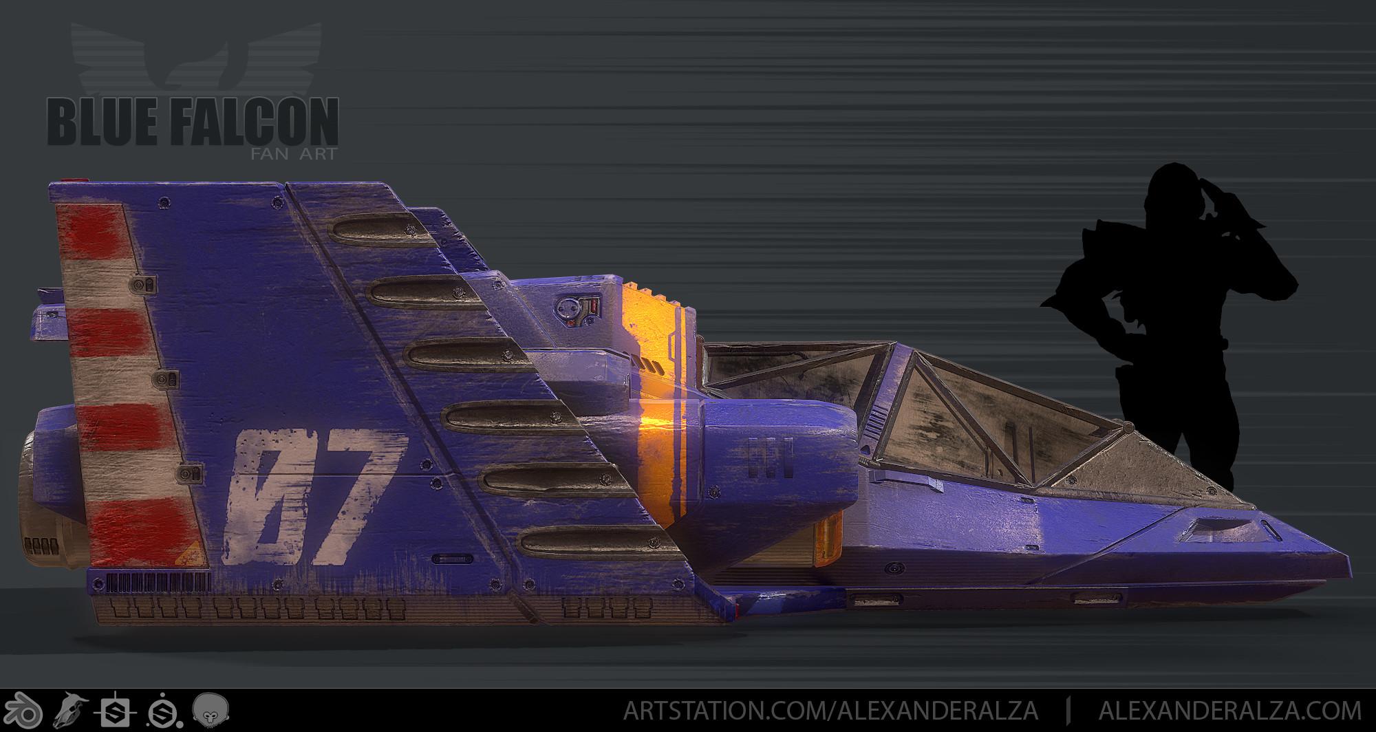 Blue Falcon 02