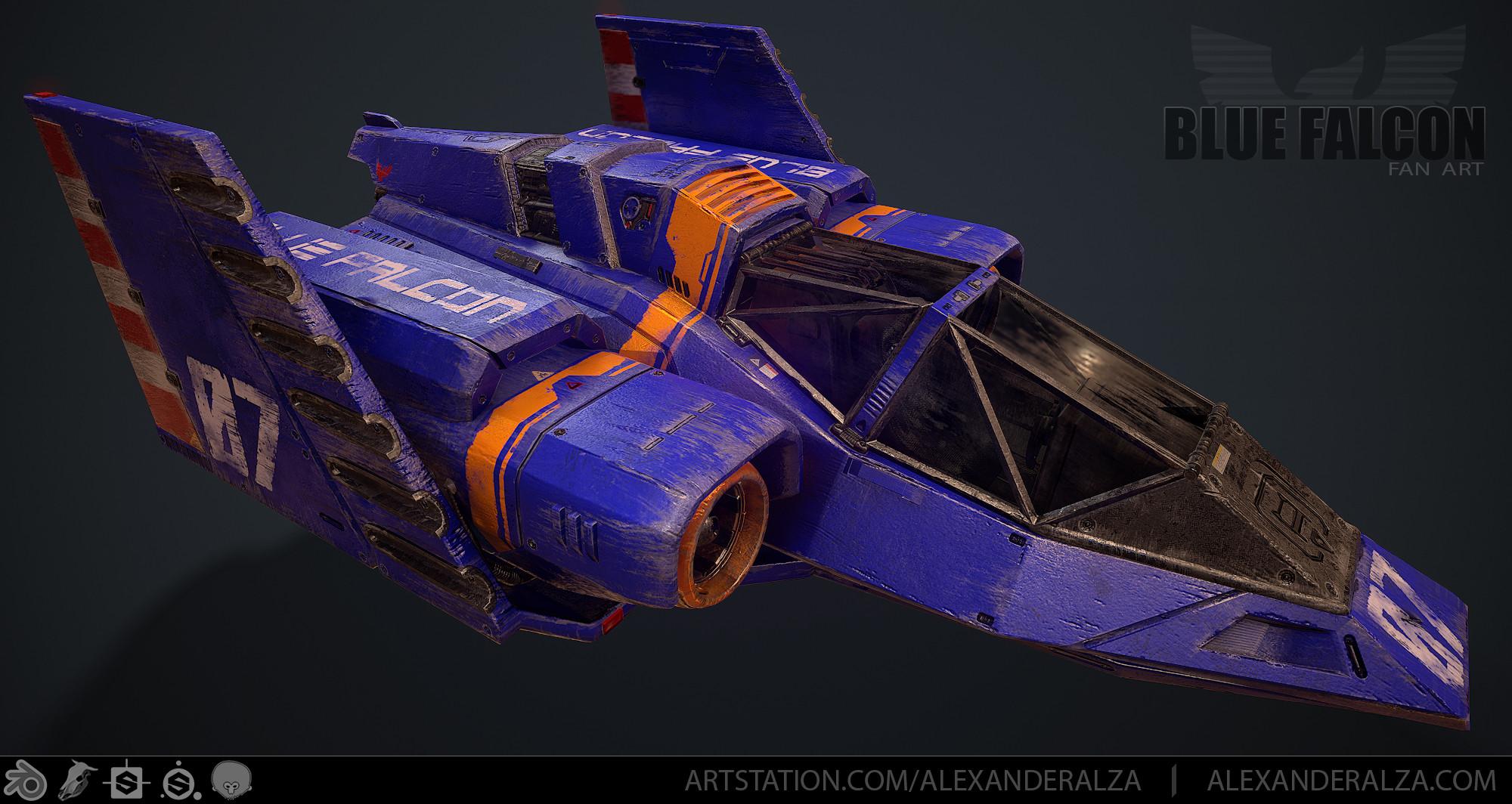 Blue Falcon 01