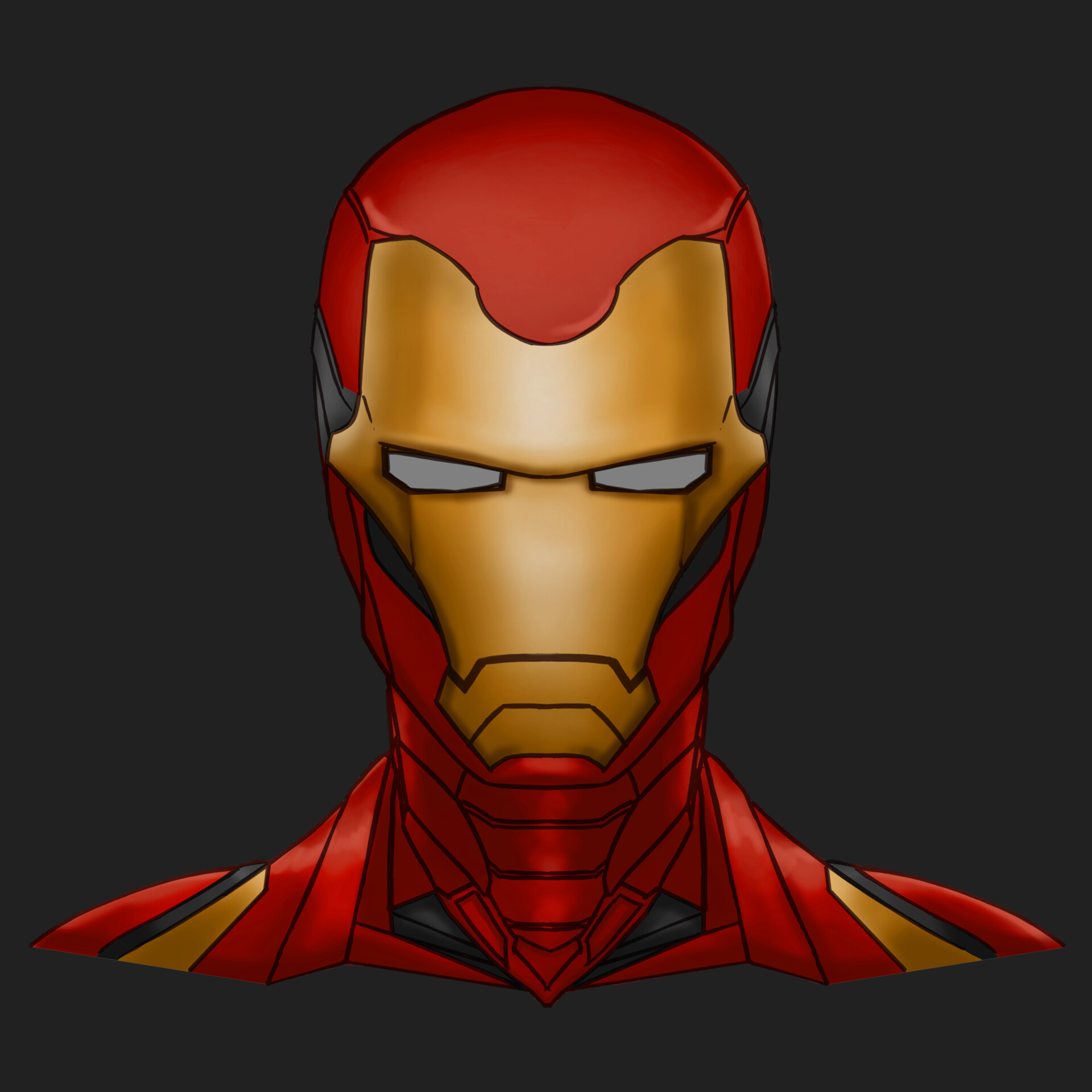 - ArtStation - Iron Man (Avengers: Endgame), Paolo Jandicala