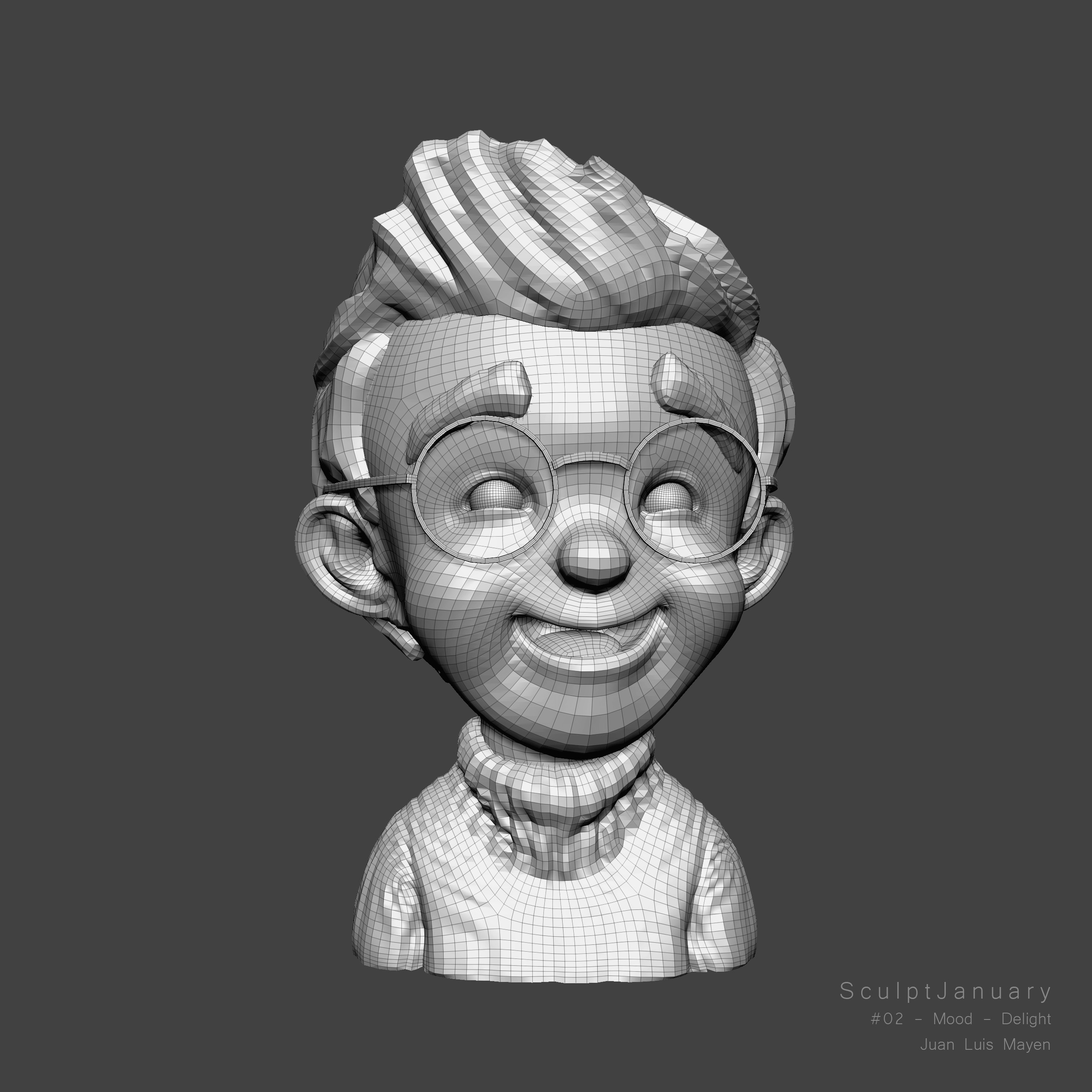 02 - Mood - Delight (Zbrush screenshot)