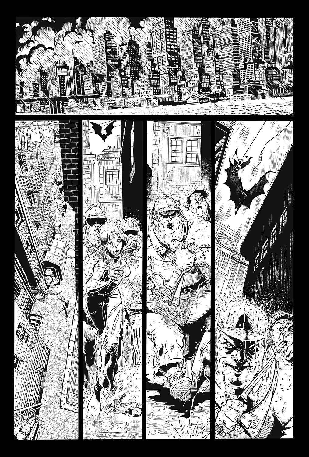 Unreleased Batman Samples Page 1