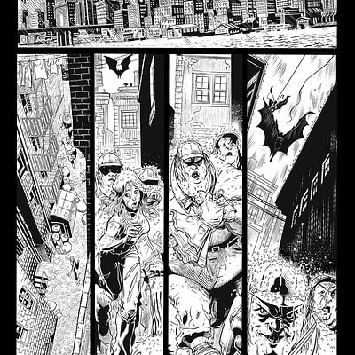 Unreleased Batman Samples Page 1