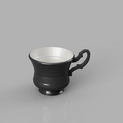 Damian sobczyk retro tea cup