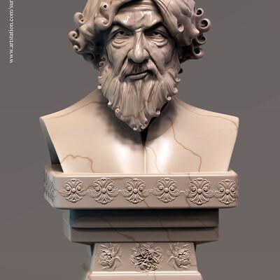 Surajit sen proff digital sculpture surajitsen april2019