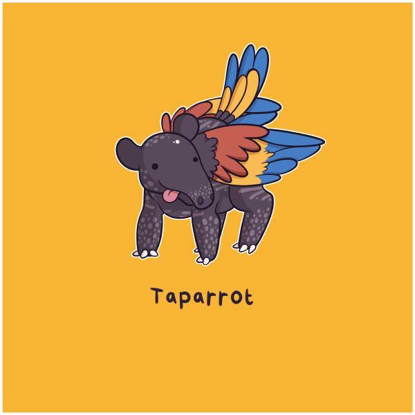 Danielle jones tapirparrot