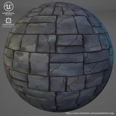 Joseph burrage stylized stone 01