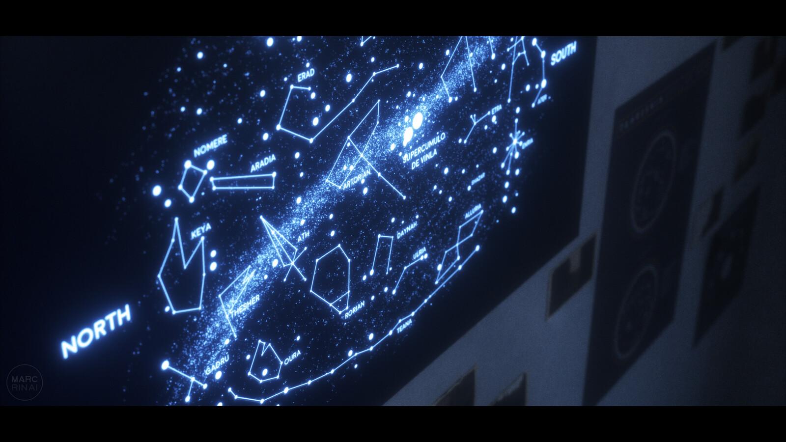 Tahreshia stellar map