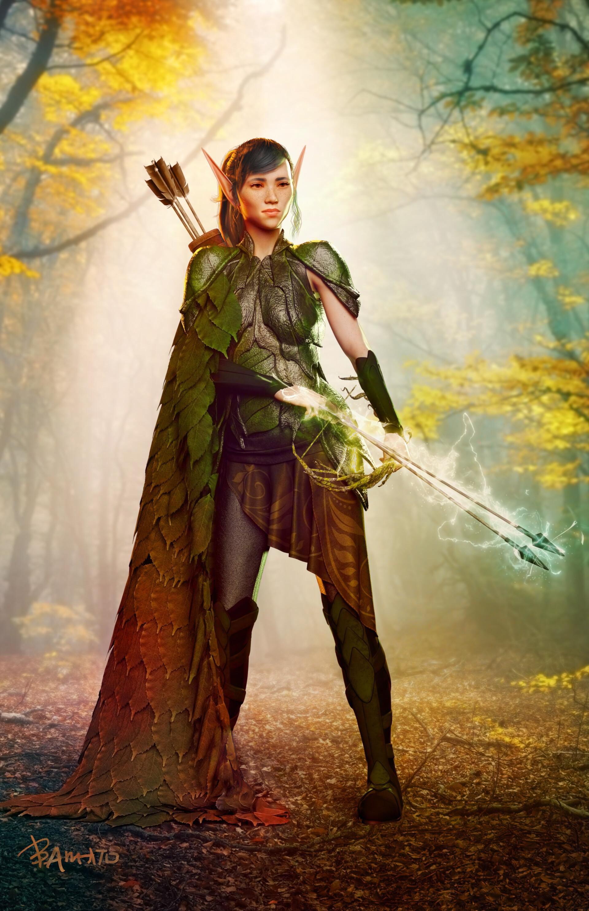 Benni a woodelfarcanearcher