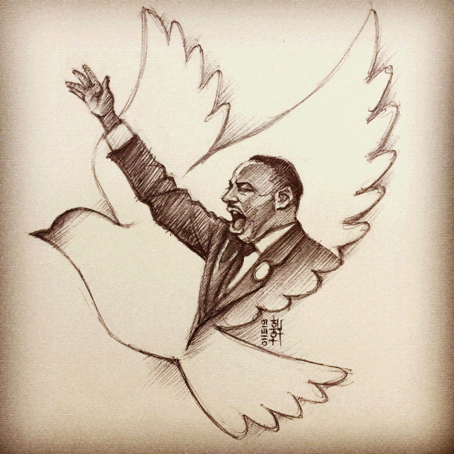 I Have a Dream - Sketch