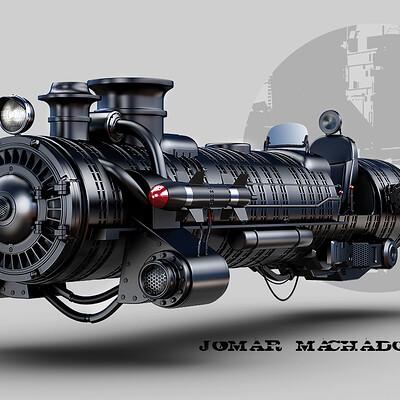 Jomar machado 189 steam hover machine