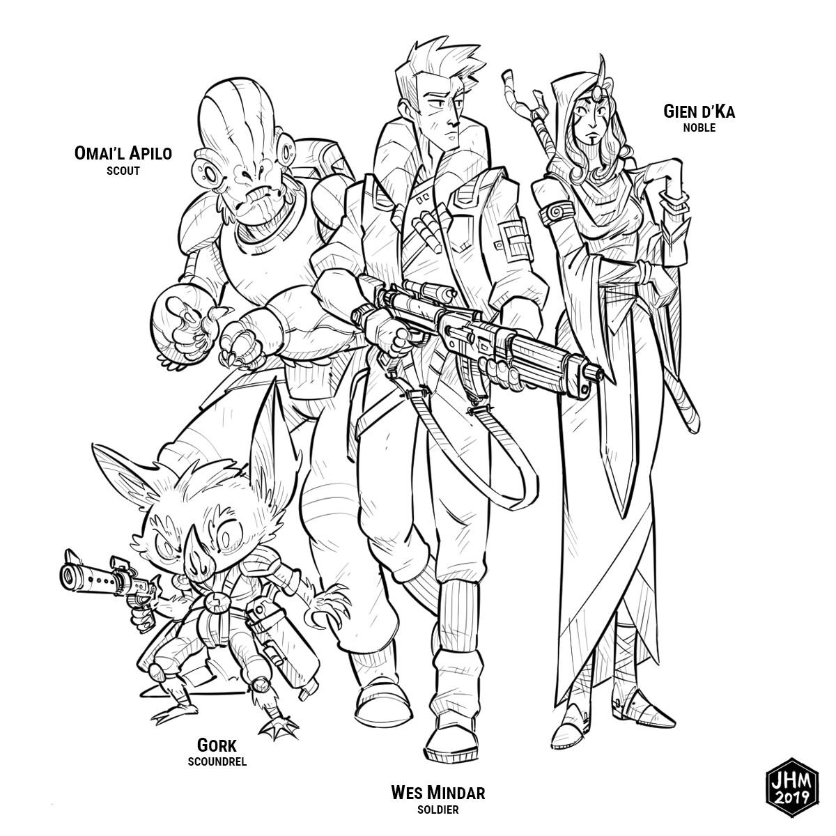 Artstation Star Wars Dawn Of Defiance John Muller