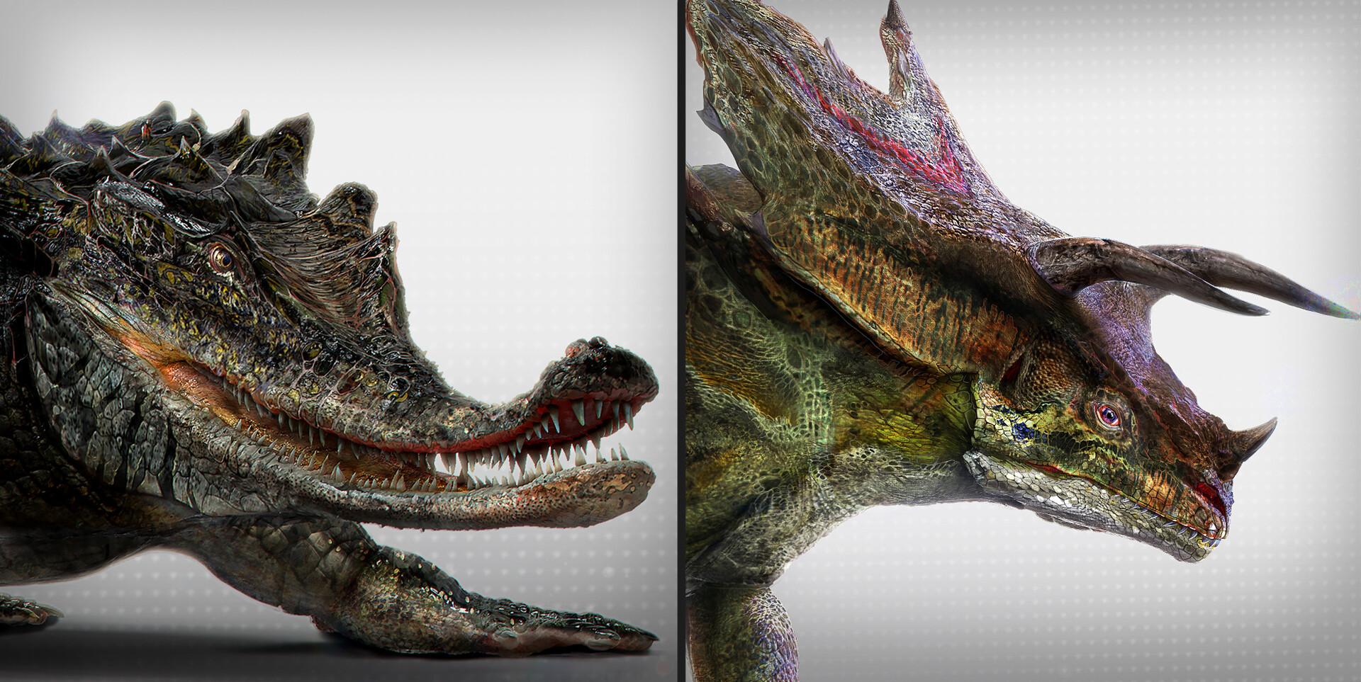 ArtStation - Jurassic World : \\HYBRID// : Monostegotops