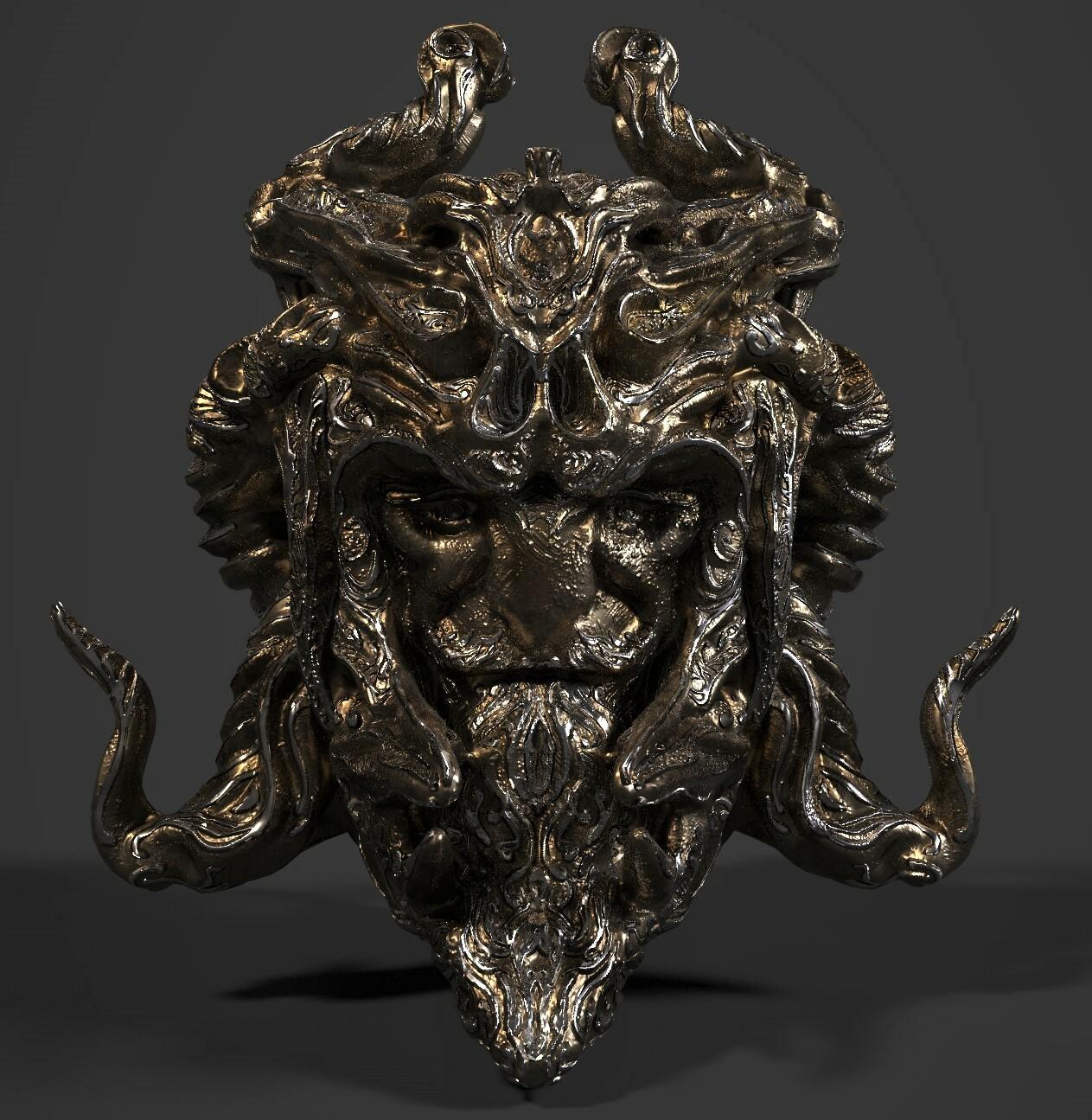 3D Game asset/ Fantasy Artifact #5