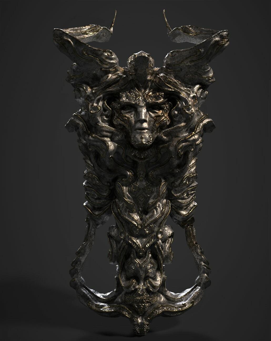 3D Game asset/ Fantasy Artifact #6