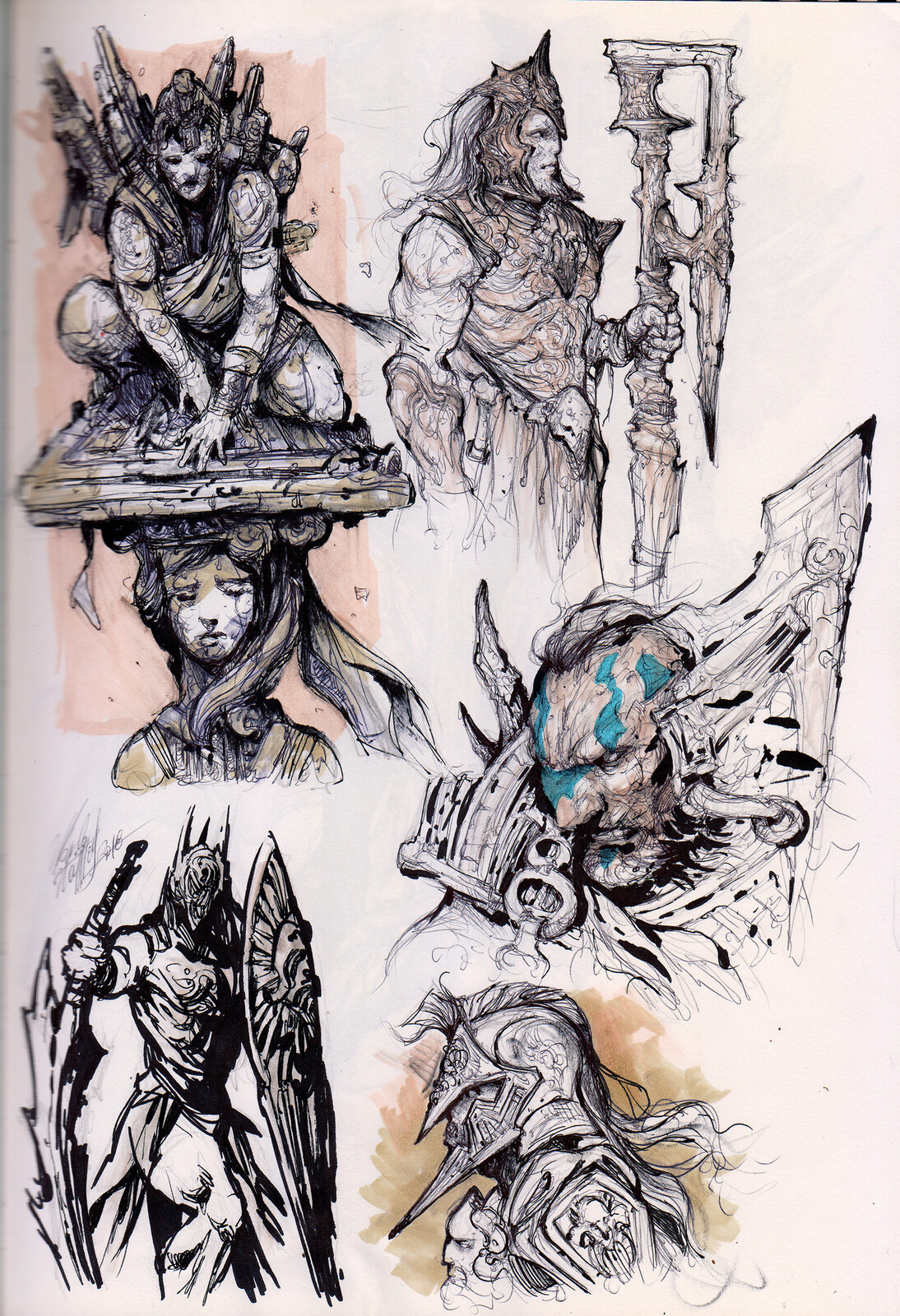 Concept Sketches / Drawings