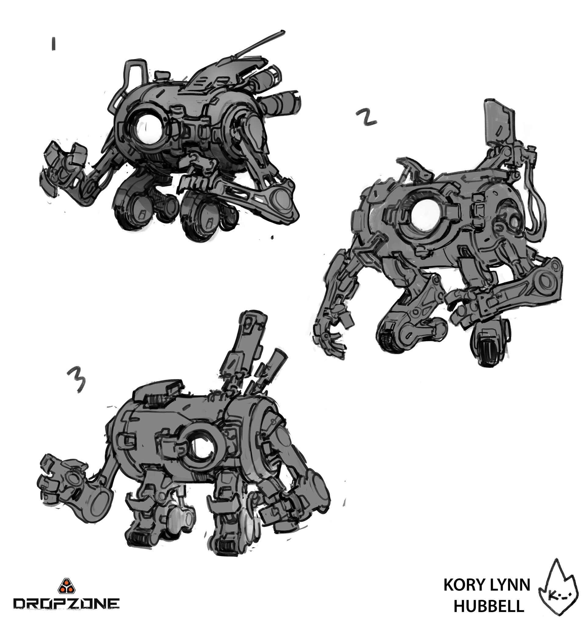 Kory hubbell mechanic pilot 7 sketches artstation