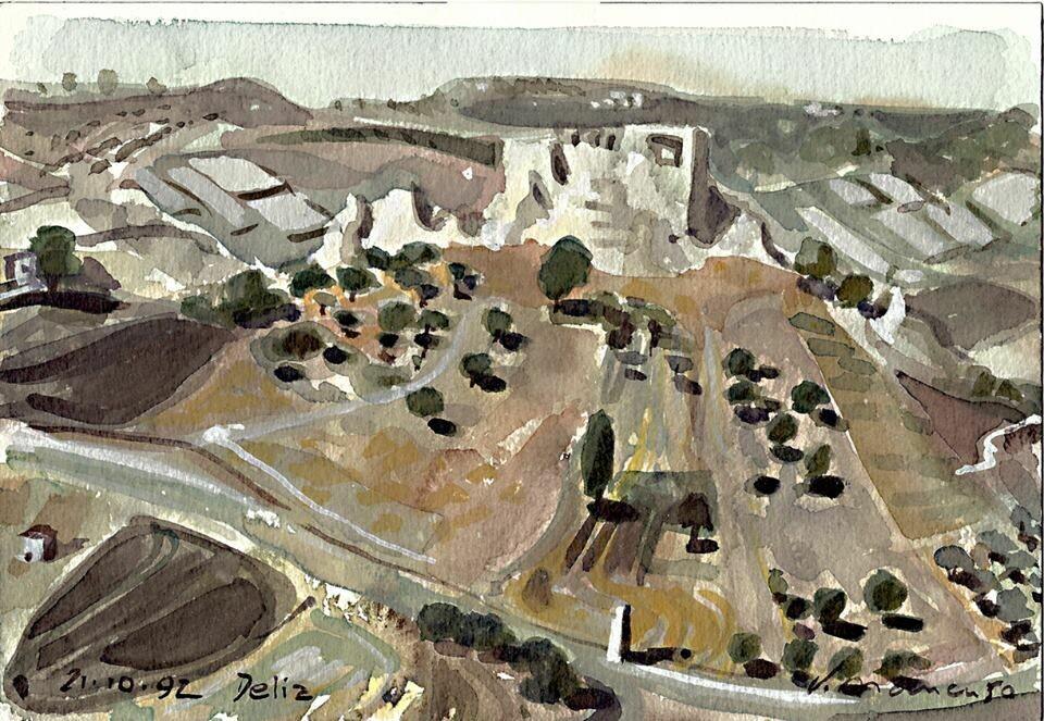Delia, Sicily, 1992