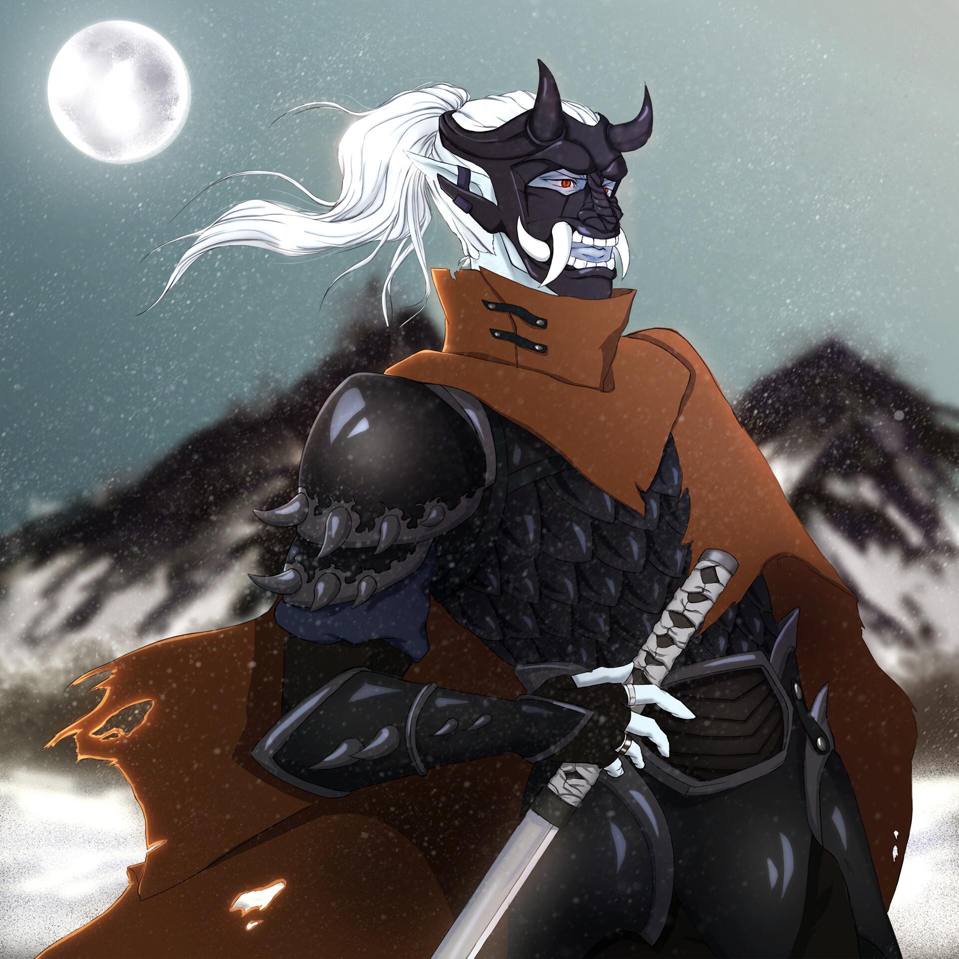 Mishayla Paulson The Oni Samurai