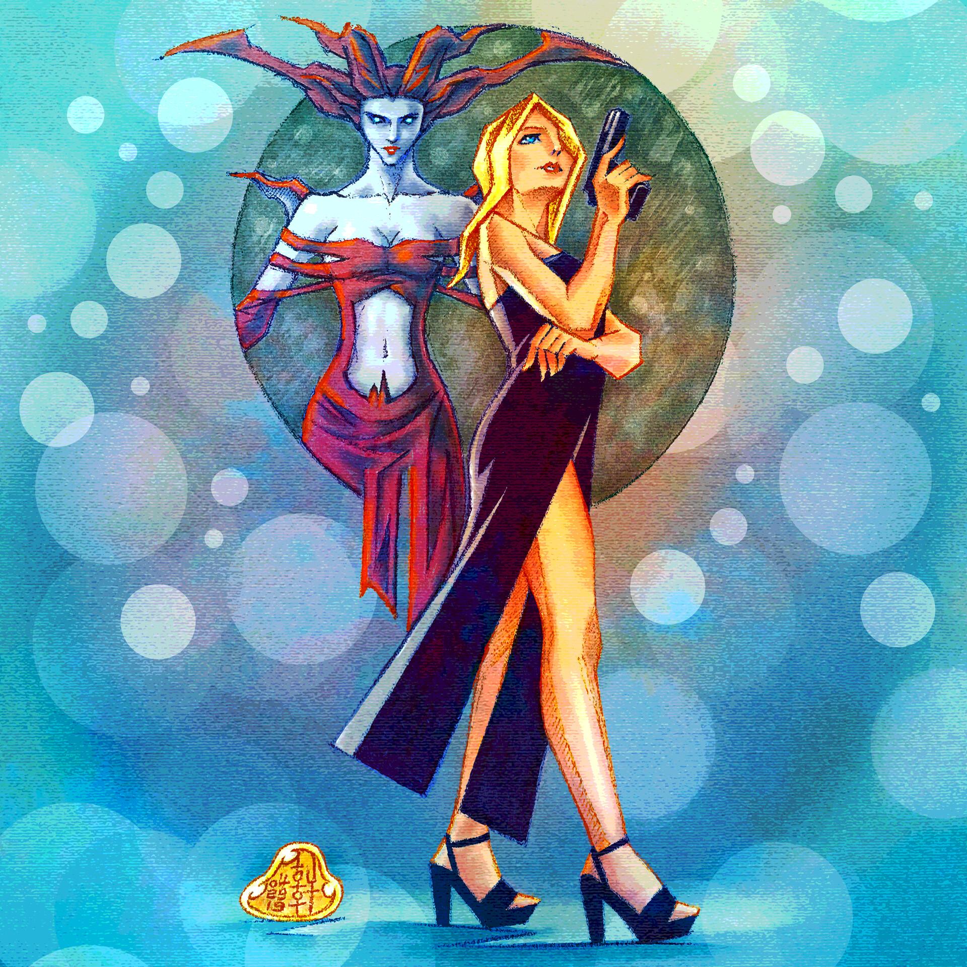 Aya and Eve - Version II