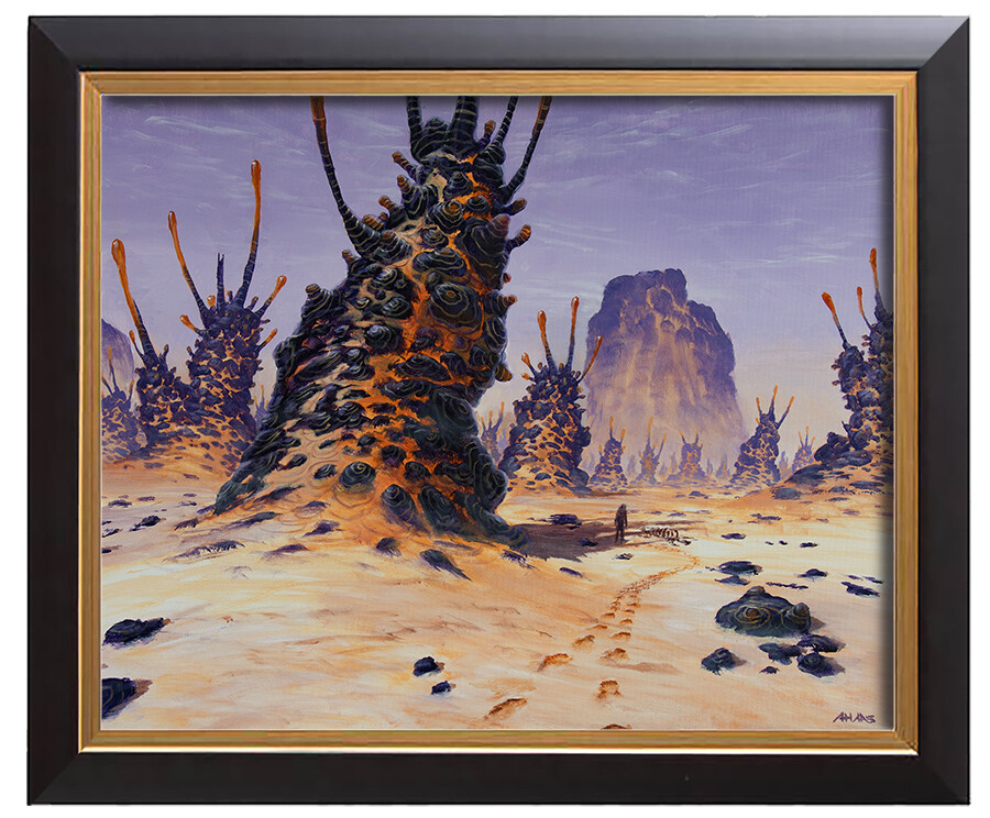 Arthur haas desert framed small