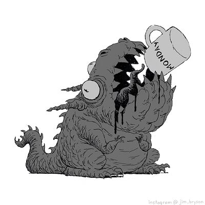 Jim bryson monday monster 001
