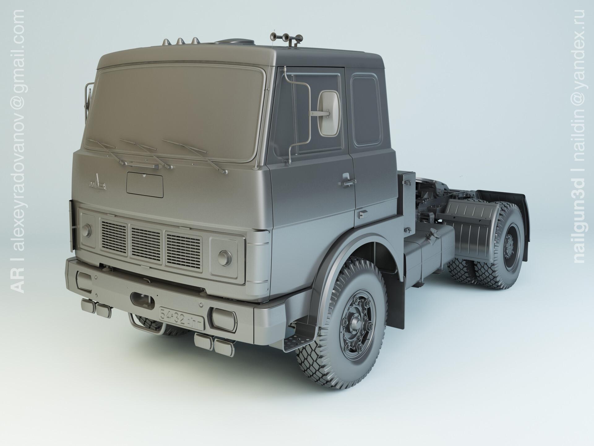 Nail khusnutdinov alg 045 003 maz 5342 modelling 0
