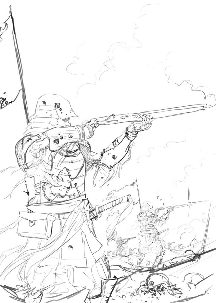 Michael rookard skeletonline sketch1