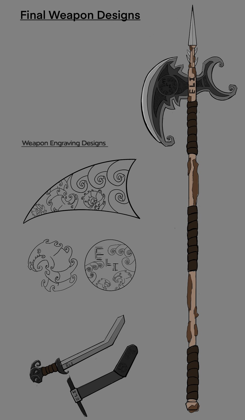 Final weapon concept design
