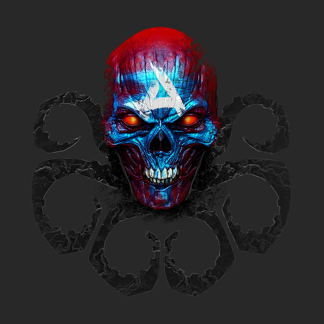 Ryan bailey redskull logo1